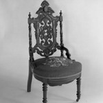 Side chair (reception) (Elizabethan-revival style)