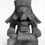 Funerary Urn in Form of Seated Figure