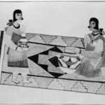 Two Women on a Rug