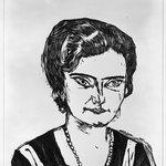 Portrait of Frau H.M. (Naila) (Bildnis Frau H.M [Naila])