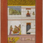 Patamanjari Ragini, Page from a Dispersed Ragamala Series