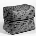 Oblong Basketry Box and Cover