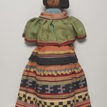 Doll Wearing Seminole Woman's Outfit