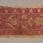 Band Fragment with Figural, Animal, and Botanical Decoration