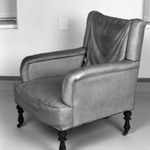 Pair of Upholstered Armchairs                                   (Aesthetic Movement style)