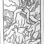 [Untitled] (Daphnis Plays to His Goats)