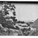 Surugadai in Edo, from the series Thirty-six Views of Mount Fuji