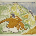 Three Bathers on the Beach