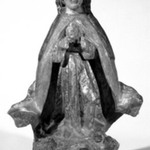 Figure of the Virgin as Queen of Heaven or Queen of Angels