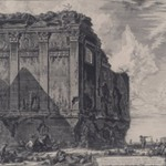 The So-called Temple of Salus, on the Road to Albano