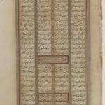 Two Large Leaves of Shah Namah of Ferdowsi Manuscript