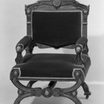 Armchair (one of a pair with 44.24.3) Neo-Grec style