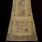 Piece of Chasuble with arms of Mercedarian Order