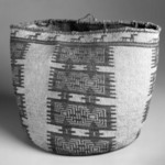 Large Basket with False Embroidery