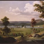 Summer Landscape Near New Haven