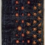 Curtain panel, one of a pair (part of a set of two pairs of Curtains) Moorish style, Rockefeller Room