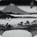 Fuji from Mihonoura (fan)