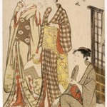 Geisha of Tachibana-chō, from the series Contest of Contemporary Beauties of the Pleasure Quarters