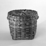 Cylindrical Basket and Round Cover