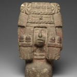 Chicomecoatl - Seated Figure of Goddess