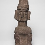 Seated Figure of Tlaloc