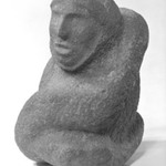Figure of Serpent with a Human Head