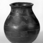 Three Jars with Incised Designs