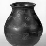 Three Jars with Incised Designs