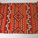 Probably Bayeta-style Blanket with Terrace and Stepped Design