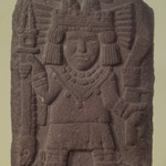 Relief with Maize Goddess (Chicomecóatl)