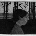 Portrait of a Peasant Woman (Girl with Nose) (Bildnis einer Bäuerin [Mädchen mit Nase])