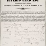 Act of Independence of the Mexican Empire (Acta de Independencia del Imperio Mexicano)