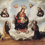 Our Lady of the Rosary with Saints