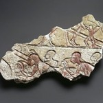 Relief Fragment of Bowing Figures
