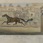 The Celebrated Trotting Horse, John Stewart ... on Fashion Course