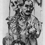 The Artist and Death II (Der Künstler und der Tod II)
