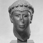 Head of a Man with a Rosette Diadem