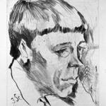 Portrait of a Poet (Rudolph Börsch?) (Porträt eines Dichters [Rudolph Börsch?])