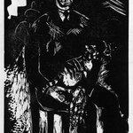 Man with Cat in His Lap (Mann mit Katze auf dem Schoss)