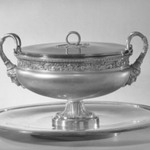 Tureen with Cover on Tray