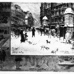 Winter in Paris; Place Breda