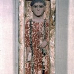 Funerary Stela with Boy Standing in a Niche