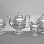 Sugar Bowl with Cover (Part of Tea Set)