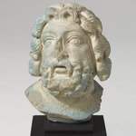Head from a Statuette of Zeus Serapis