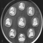 Portrait Medallion of Charles Linnaeus (Profile)