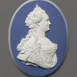 Portrait Medallion of Empress Catherine II of Russia