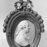 Portrait Medallion of Sir Joshua Reynolds, English Painter