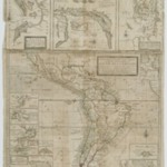 A New & Exact Map of the Coast Countries and Islands Within Ye Limits of Ye South Sea Company