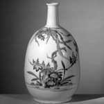 Bottle with Decoration of a Phoenix