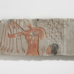 Akhenaten and His Daughter Offering to the Aten